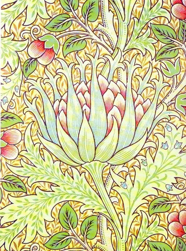 william morris artichoke