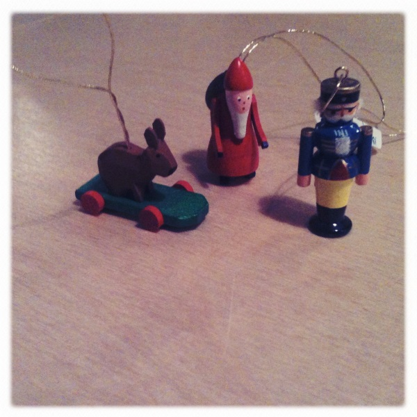 mini wooden christmas ornaments german dregeno