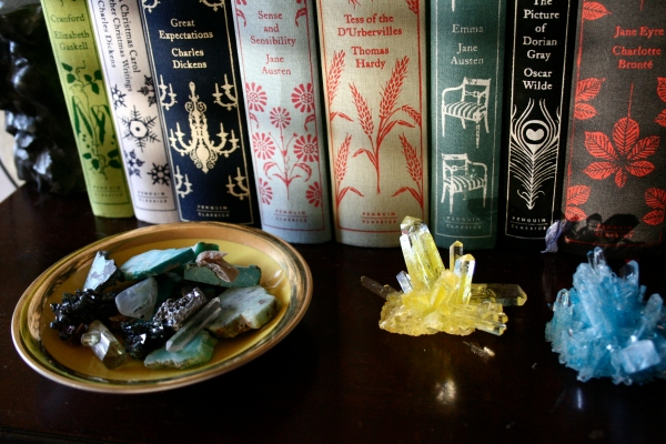 coralie bickford-smith books crystals rocks