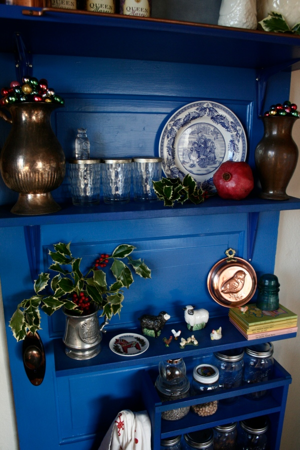 doctor who blue tardis kitchen shelf