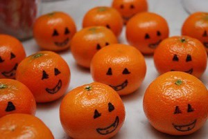 mandarin orange pumpkins
