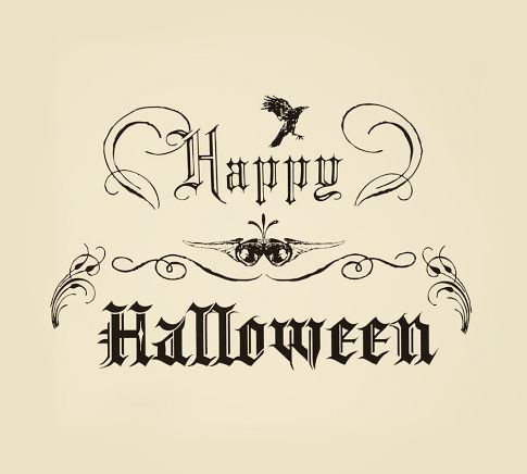 Vintage Halloween Wishes, October 31st, 2012 | Plough Your ...