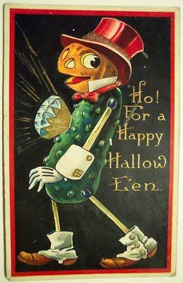 vintage pumpkin man