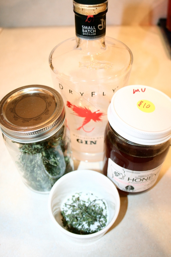 herbal tea and alcohol remedy