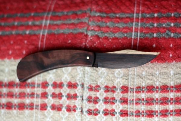 wood letter opener knife