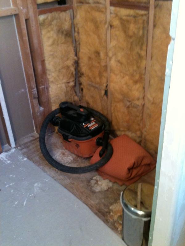 bath tub demolition