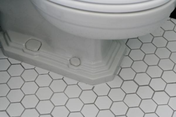 vintage toilet detail