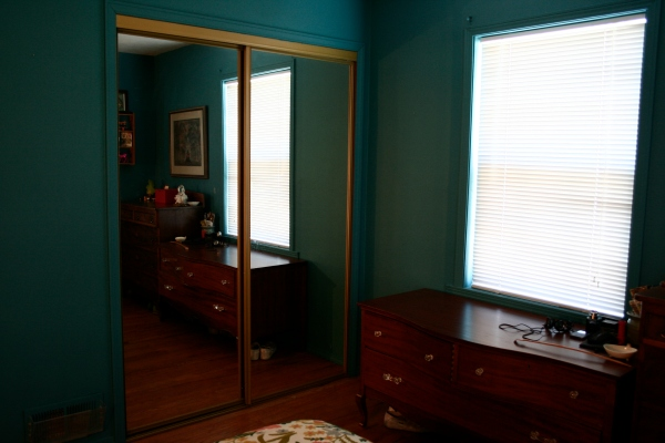 before & after bedroom